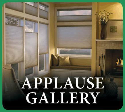 Hunter Douglas Applause Window Treatment Gallery in Southlake, Texas (TX)