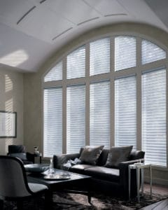 Hunter Douglas Alustra Silhouette UltraGlide Shades for Living Rooms in Southlake, Texas (TX)