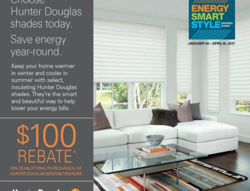 2017 Hunter Douglas Energy Smart Promotion