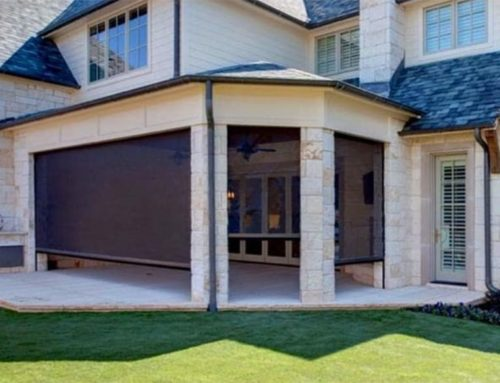 Outdoor Motion Screens for Homes