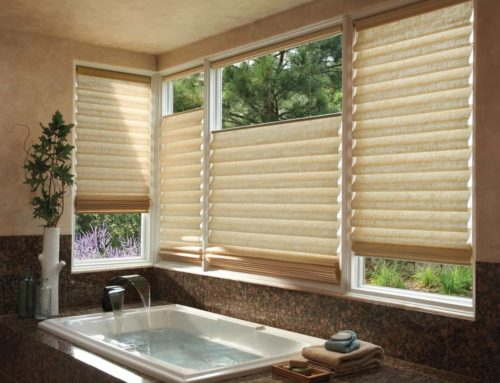 How to Style Windows with Roman Shades for Homes