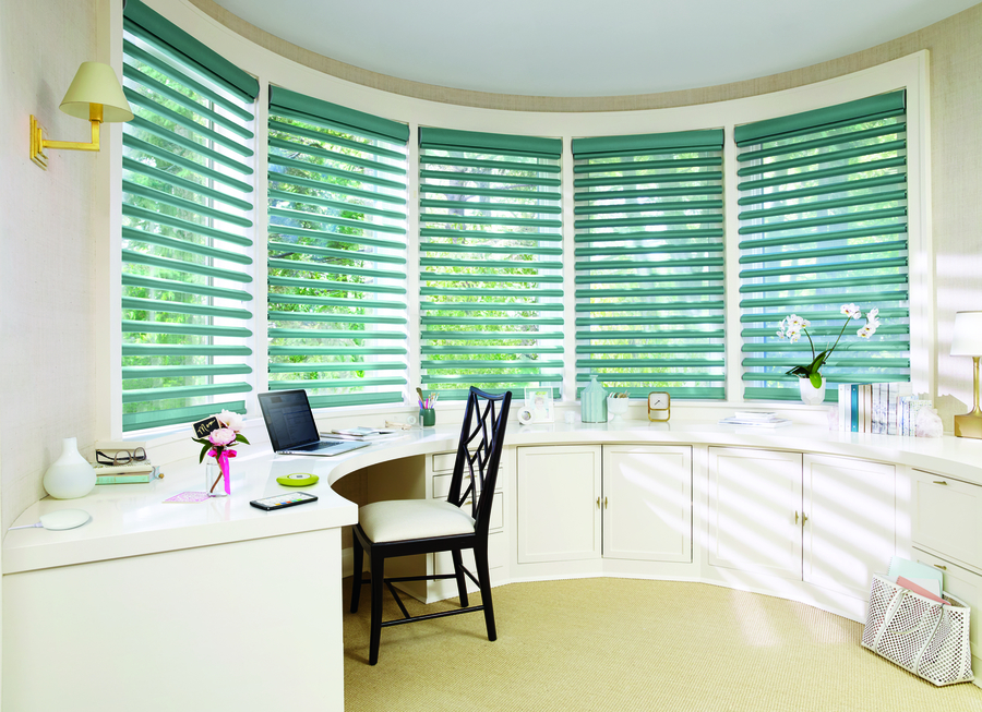 Motorized Blinds & Shades Can Transform Homes Near Southlake, Texas (TX) Using PowerView with Office Pirouette