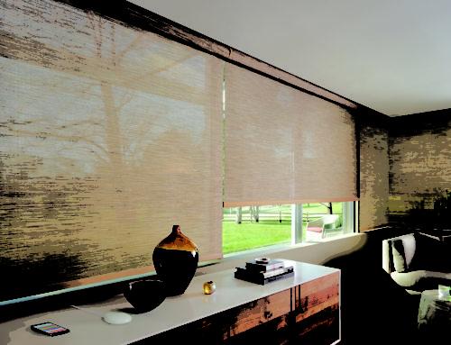 Custom Motorized Window Treatments for Homes
