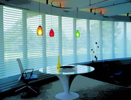 Custom Hunter Douglas Sheer Shades for Homes