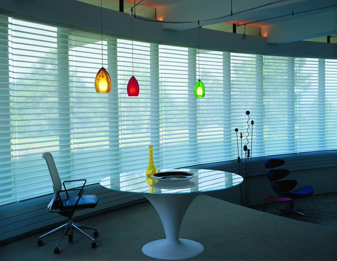 Custom Hunter Douglas Sheer Shades for Homes near Colleyville, Texas (TX) like Silhouette for Vertical Shades