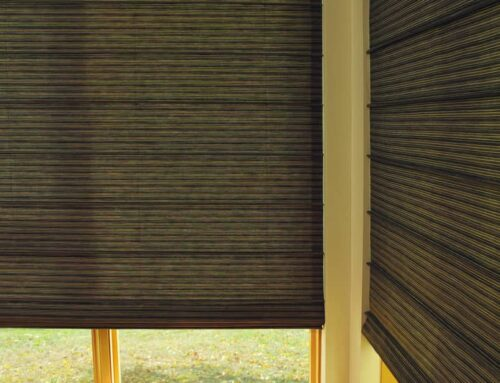 Custom Hunter Douglas Roman Shades for Homes