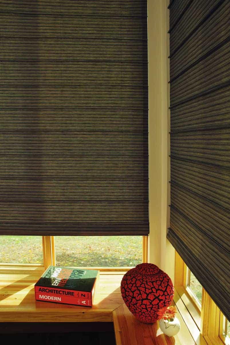 Custom Hunter Douglas Roman Shades for Homes near Westlake, Texas (TX) like Shades for Living Rooms