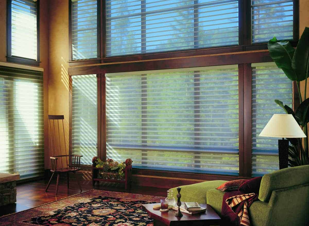 Sheers and Shades from Hunter Douglas near Westlake, Texas (TX) including Silhouette® Window Shadings