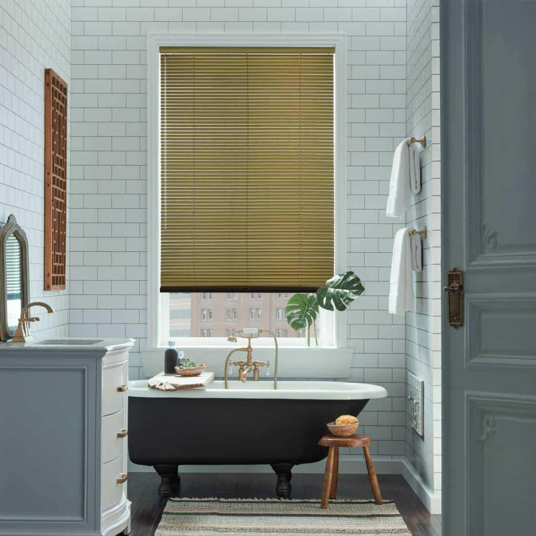 Hunter Douglas Modern Precious Metals® Aluminum Blinds Southlake, Texas (TX) window blinds, wood blinds, metal blinds