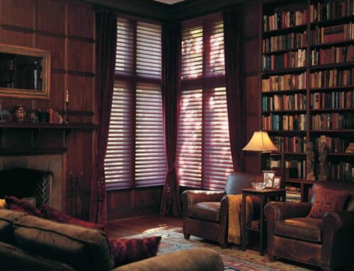 Using Hunter Douglas Sheer Shades and Shutters for Light and Privacy