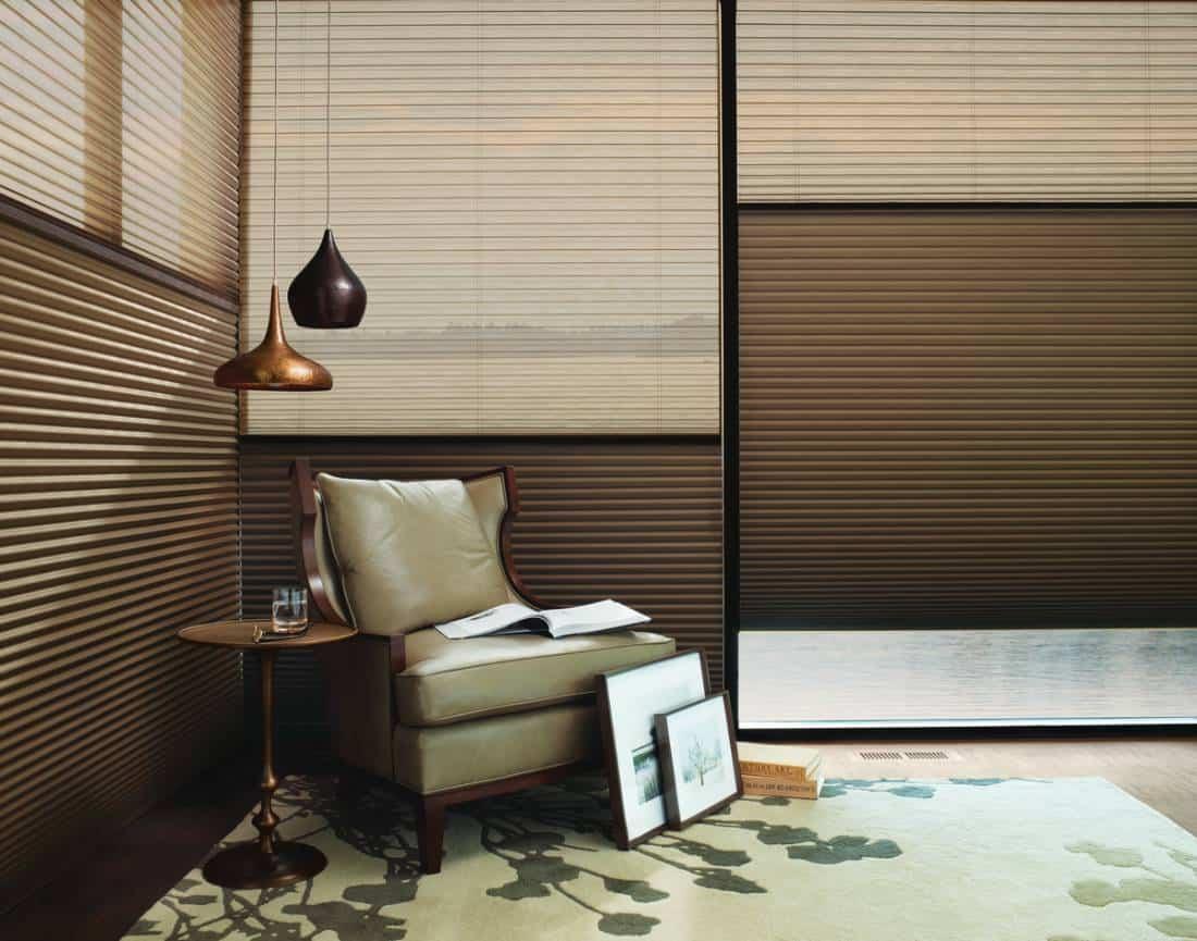 Hunter Douglas Duette® Honeycomb Shades your functional and sleek window treatments near Southlake, Texas (TX)